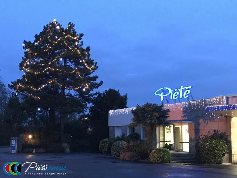 Entreprise Piete Pontivy decors Noel