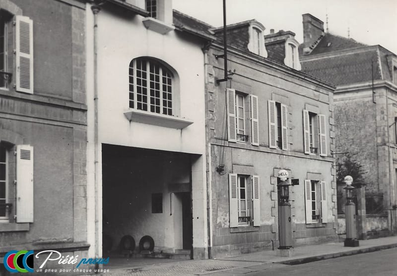 Pneus Piete garage rue Nationale pontivy pompes essence