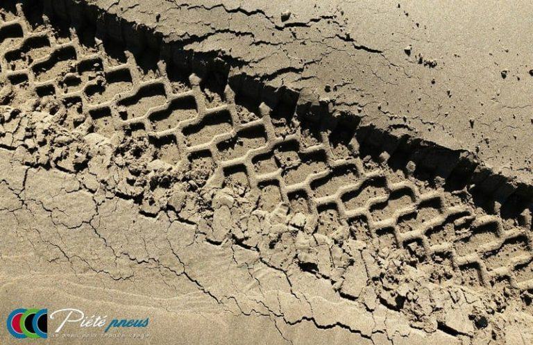 Profil pneu sable 4x4