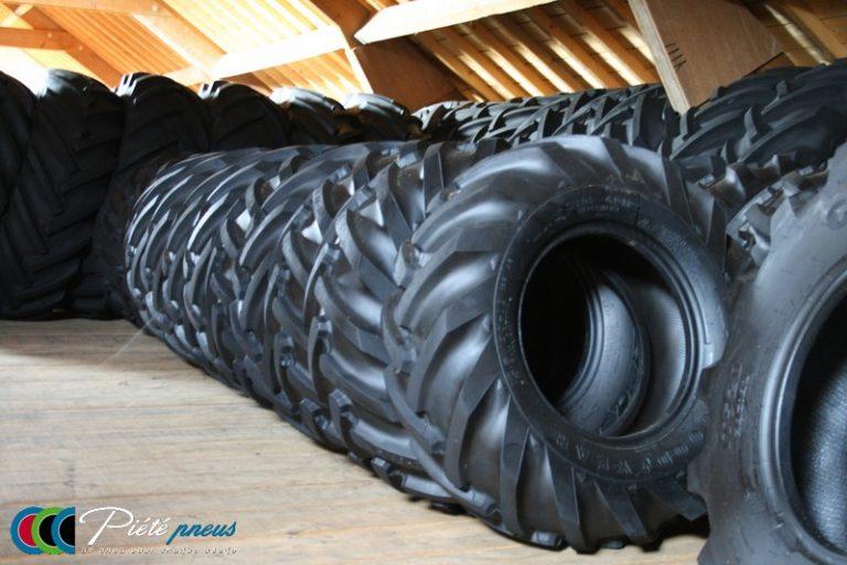 Stock pneus agricole