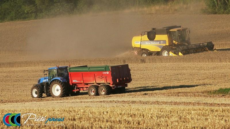 agricole tracteur moissons