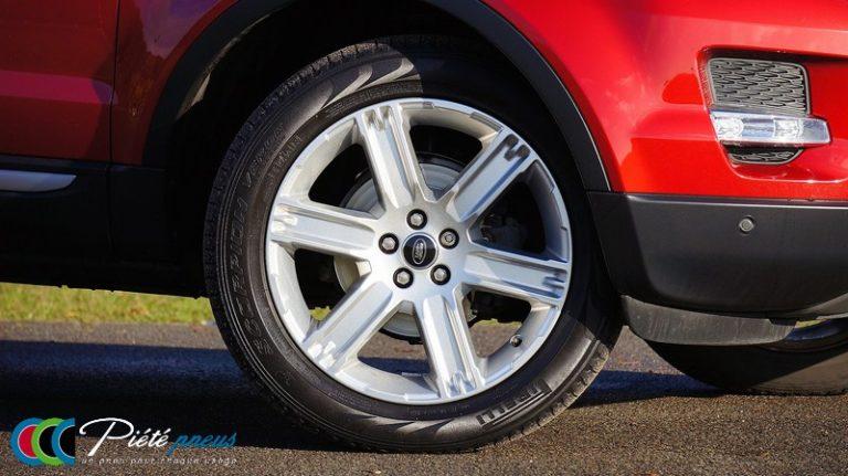 jante alu 4x4 pneu Pirelli