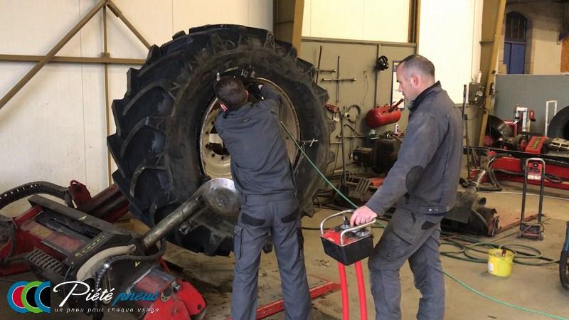 montage pneus agricoles