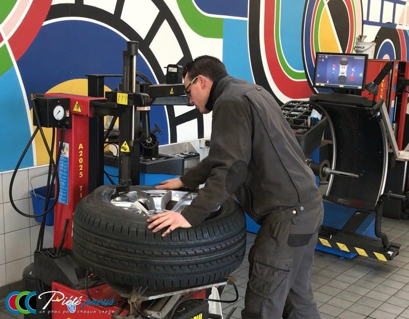 montage pneu pick up grande taille