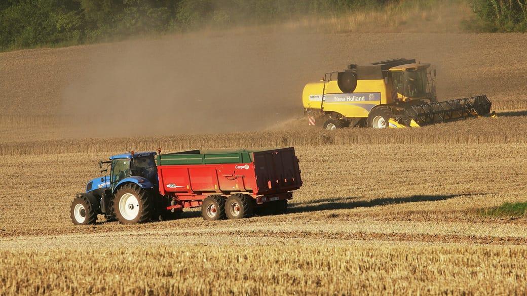 slider agricole tracteur moissons