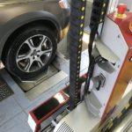 station controle automatise balayage laser geometrie